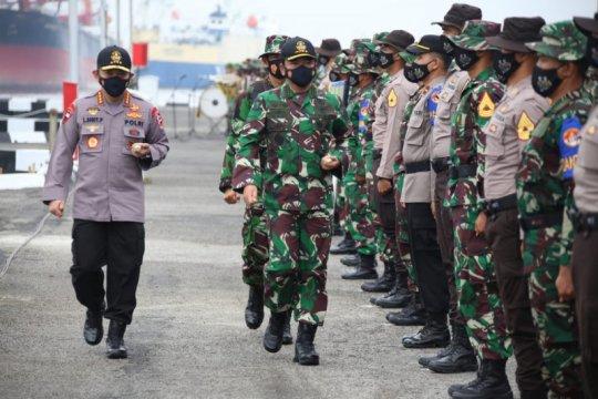 Kapolri mendampingi Panglima TNI buka Latsitarda Nusantara XLI/2021