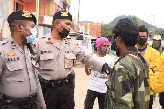 Polresta Jayapura Kota turunkan 400 personel TNI-Polri antisipasi demo