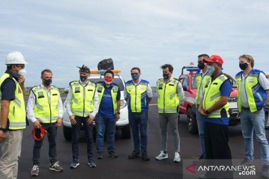 Dorna Sports cek fasilitas Bandara Lombok jelang MotoGP 2021