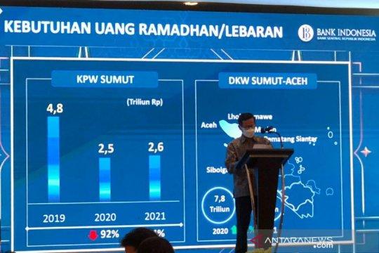 BI prediksi kebutuhan uang di Sumut pada Ramadhan Rp2,6 triliun