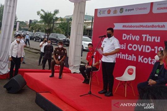 Pemkot Medan sediakan lantatur vaksinasi COVID-19 untuk 60.000 lansia