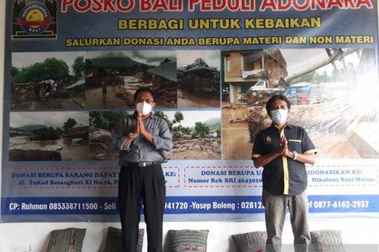 Paguyuban Lamaholot Bali buka posko peduli korban banjir Adonara-NTT