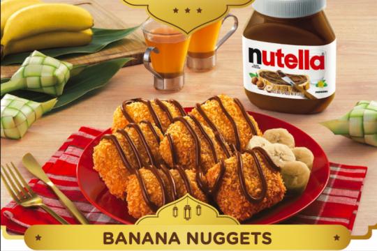 Cukup tujuh menit, resep sahur praktis Banana Nugget