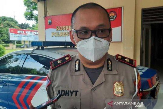 Larangan mudik, Polresta Surakarta jaga ketat 10 pintu masuk kota