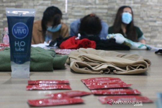 Polda NTB membongkar praktik prostitusi di Kota Mataram