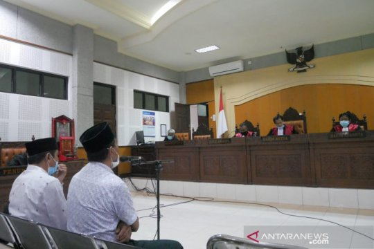 Dua terdakwa korupsi relokasi korban banjir di Bima NTB ajukan banding