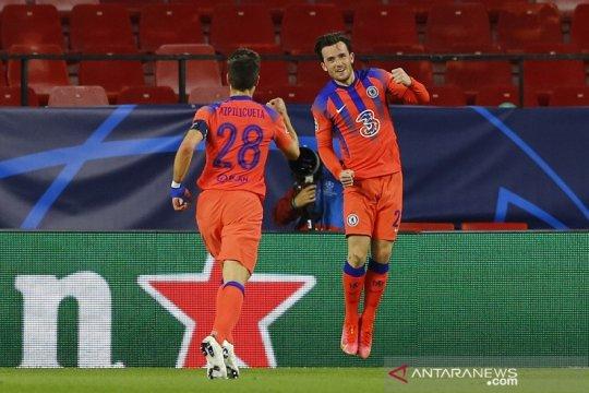 Chelsea menang meyakinkan atas Porto di leg pertama