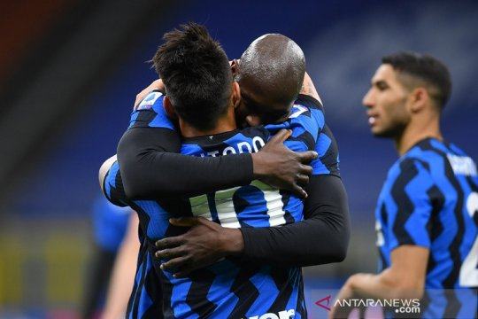 Lukaku bawa Inter tundukkan Sassuolo 2-1