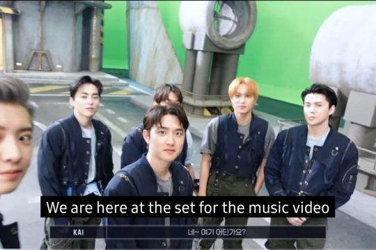 EXO bocorkan video musik baru