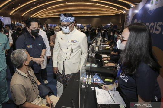 Sentra vaksinasi BUMN ubah jam operasional selama Ramadhan