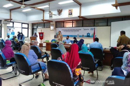 Warga Kepulauan Seribu dapat sosialisasi berlangganan air bersih