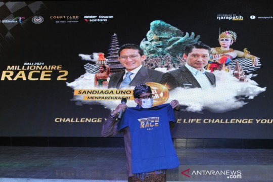 Sandiaga harap Bali Millionaire Race tingkatkan kesiapan Bali