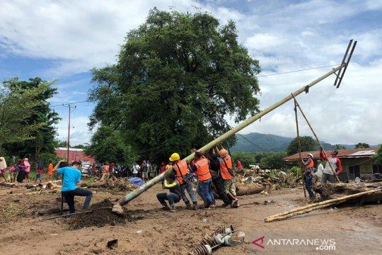 PLN terus berusaha pulihkan listrik di daerah bencana NTT