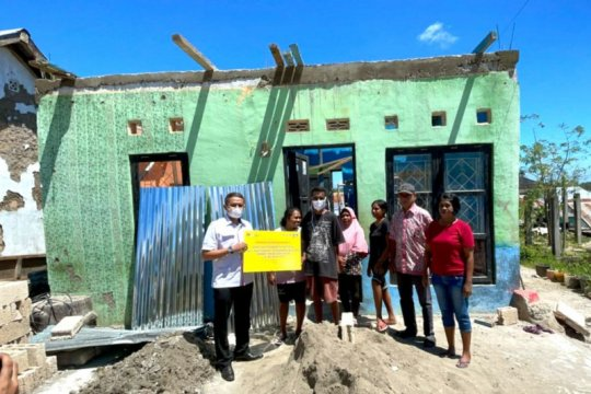 BTN bantu perbaiki rumah terdampak Siklon Tropis Seroja di NTT