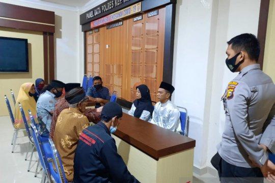 Tertangkap sebelum nikah, pria di Meranti ijab kabul di kantor polisi
