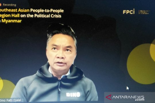 Dino:non-intervensi bukan tentang diam saat HAM di Myanmar dilanggar