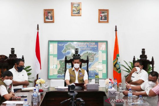 Pemerintah tidak bangun huntara di NTT untuk cegah penularan COVID-19