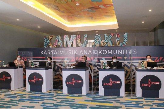Kemenparekraf pilih 15 finalis Lomba Karya Musik Anak Komunitas