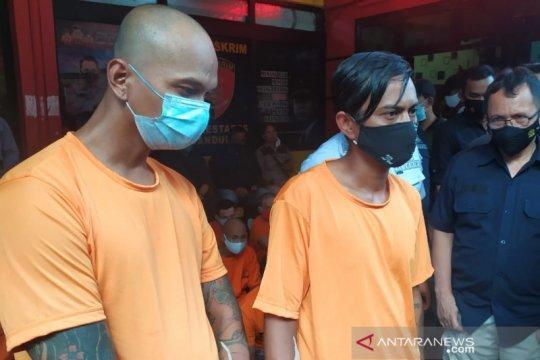 Polrestabes Bandung bekuk dua anggota ormas pemeras teknisi kabel