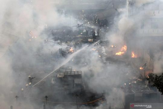 Kebakaran di Jakpus capai 127 kasus dengan kerugian Rp26,3 miliar