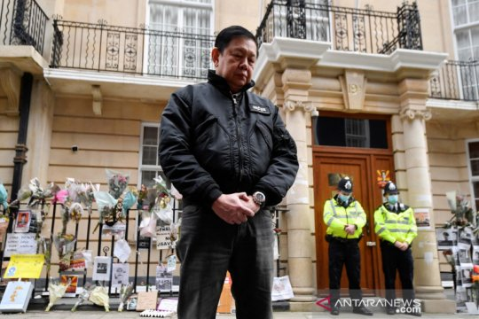 Inggris izinkan Dubes Myanmar Kyaw Zwar Minn untuk tetap tinggal