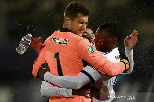 Lyon lengkapi peserta perempat final Piala Prancis