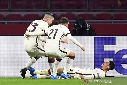Roma hapus kenangan buruk di Ajax, Villarreal pecundangi Dinamo Zagreb