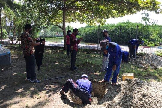 10 titik sumur resapan dibuat di Pulau Kelapa