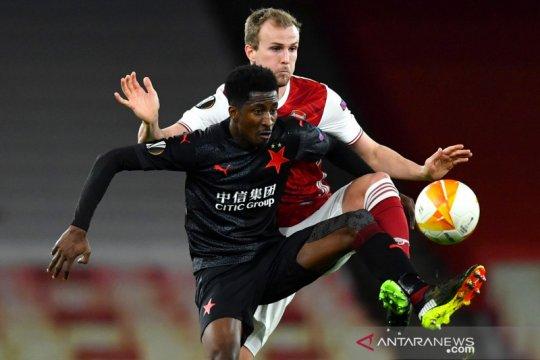 Liga Europa: Slavia Praha tahan Arsenal 1-1