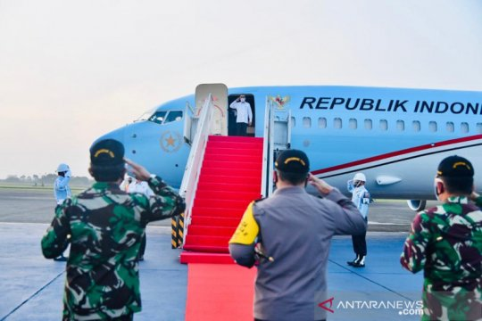 Presiden bertolak ke NTT pastikan penanganan bencana berjalan baik