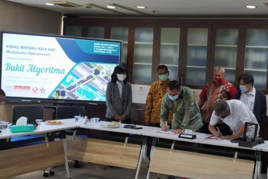 Bukit Algoritma Silicon Valley Indonesia impian Budiman siap dibangun
