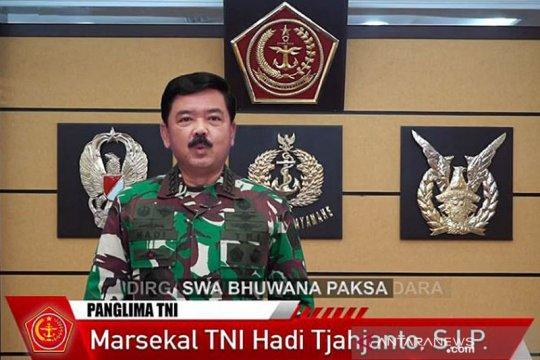 HUT Ke-75, Panglima TNI harapkan TNI AU tingkatkan profesionalitas