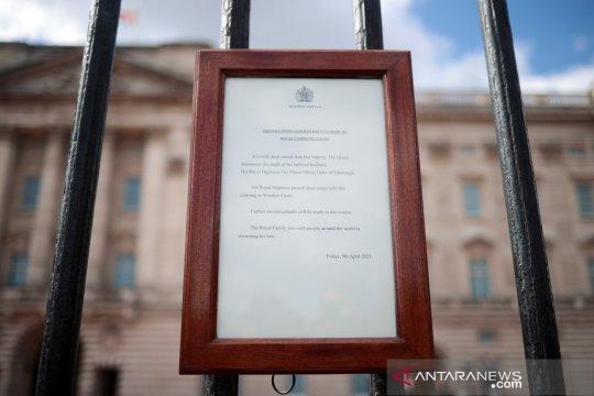 Kerajaan Inggris sediakan buku online ucapan duka Pangeran Philip