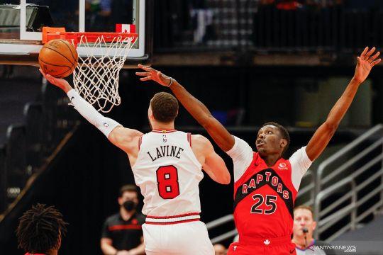 NBA: Chicago Bulls kalahkan Raptors 122 - 113