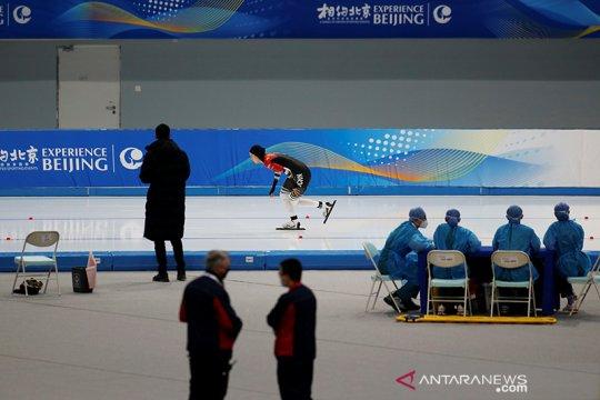 China uji coba venue Olimpiade Musim Dingin Beijing 2022