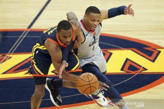 NBA: Wizards menang tipis 110-107 atas Warriors