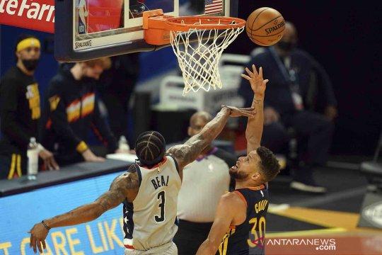 Hasil tujuh laga NBA: Stephen Curry cemerlang