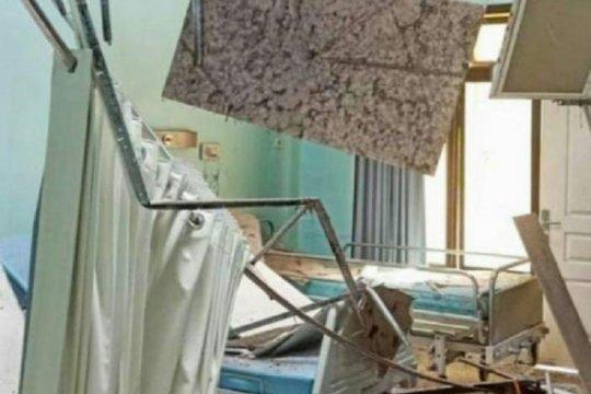 Ruang perawatan RSUD Mardi Waluyo Blitar rusak imbas gempa bumi