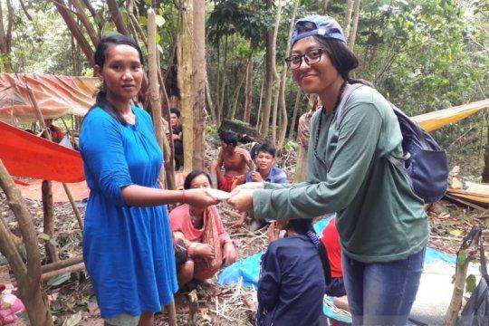 Ni Komang, gadis Bali pendamping orang rimba