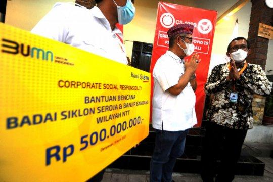 BTN salurkan bantuan Rp500 juta untuk korban badai Seroja NTT