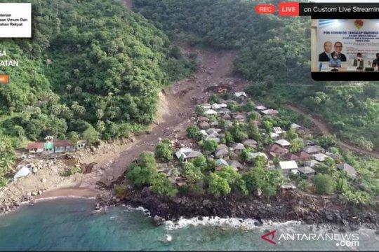 BNPB susur sungai dan survei udara di lokasi terdampak di NTT