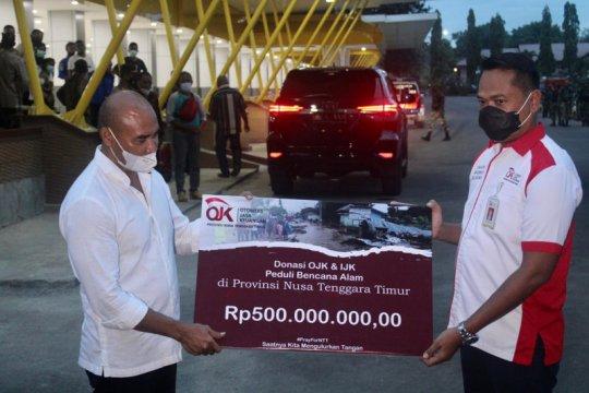 OJK-LJK bantu Rp500 juta dukung penanganan dampak bencana di NTT