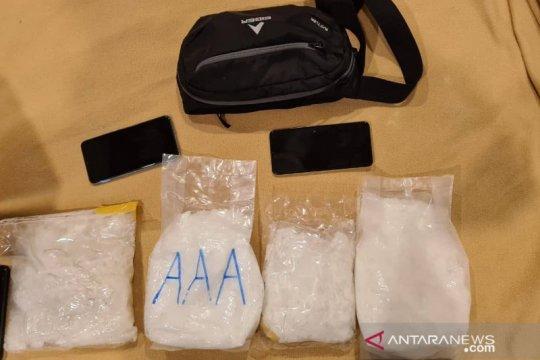Polres Nunukan tangkap tiga tersangka kasus narkoba dari Malaysia