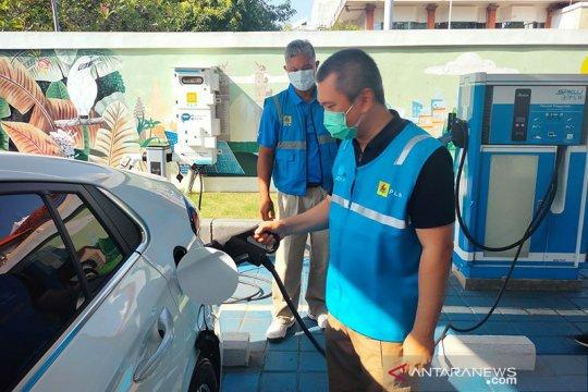 PLN bangun SPKLU mudahkan isi daya kendaraan listrik di Bali
