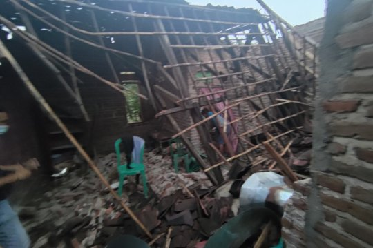 Puluhan rumah di Tulungagung rusak akibat gempa
