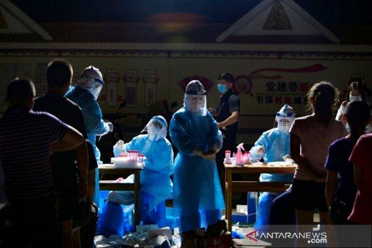 Warga Anhui China berebut vaksin setelah kasus sporadis COVID