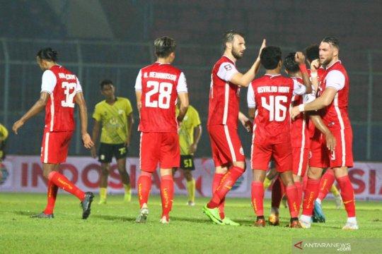Pelatih: Pemain pengganti Riko Simanjuntak kunci kemenangan Persija