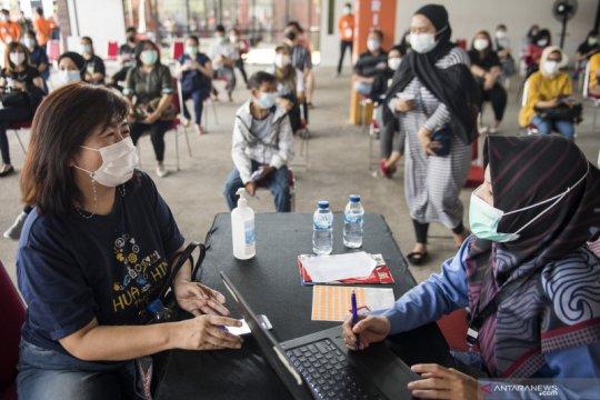 9.955.433 jiwa penduduk RI telah menjalani vaksinasi dosis pertama