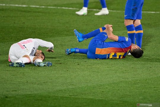 Real Madrid konfirmasi Lucas Vazquez alami cedera ligamen