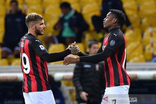 Milan tundukkan Parma 3-1 walau hanya dengan 10 pemain